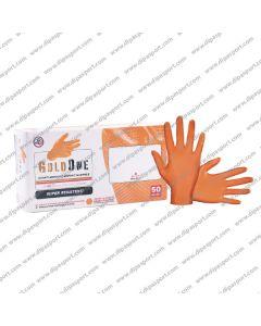 Guanti Arancioni Grippati Nitrile XL