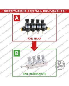 INJBHNA001N Rail Iniettori Gas Equivalenti Hana