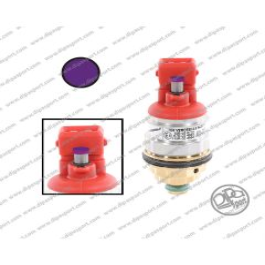 237129000 Iniettore Gas Vercesi 4.0 Tappo Viola