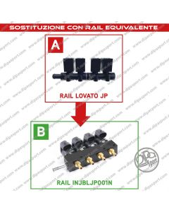 INJBLJP001N Rail Iniettori Gas Equivalenti Lovato JP