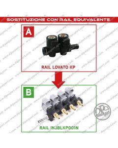 INJBLKP001N Rail Iniettori Equivalenti Lovato KP
