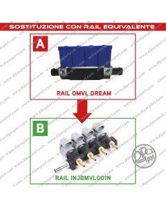 INJBMVL001N Rail Iniettori Equivalenti Omlv Dream