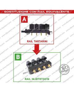Rail Iniettori Gas Equivalenti Tartarini