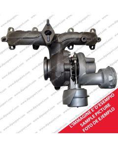 A1600960099 Turbina Garrett GT1238S Smart 0.6 0.7 b