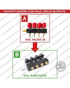 INJBVLT001N Rail Iniettori Gas Equivalenti Valtek 30
