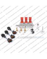 INJB008X3RUN Rail Gpl/Metano Vercesi Blu 3 Cilindri